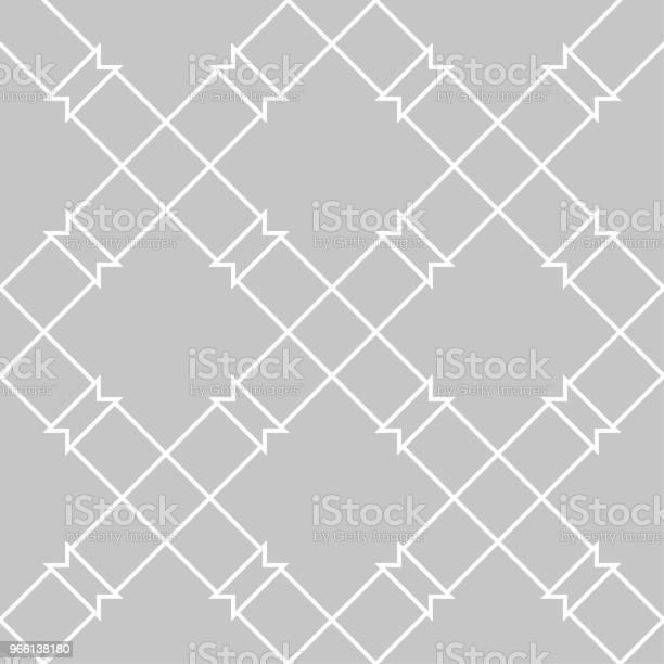Grå Och Vit Geometriska Sömlösa Mönster-vektorgrafik och fler bilder på Abstrakt