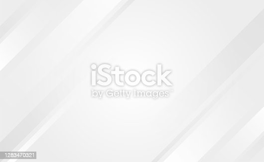 Gray and white oblique overlay lines geometry tech abstract subtle background vector illustration.