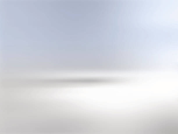 gray background horizon with gradient to blue - 물 위의 지평선 stock illustrations