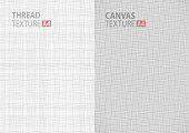 gray backgrounds fabric thread canvas textures in A4 size