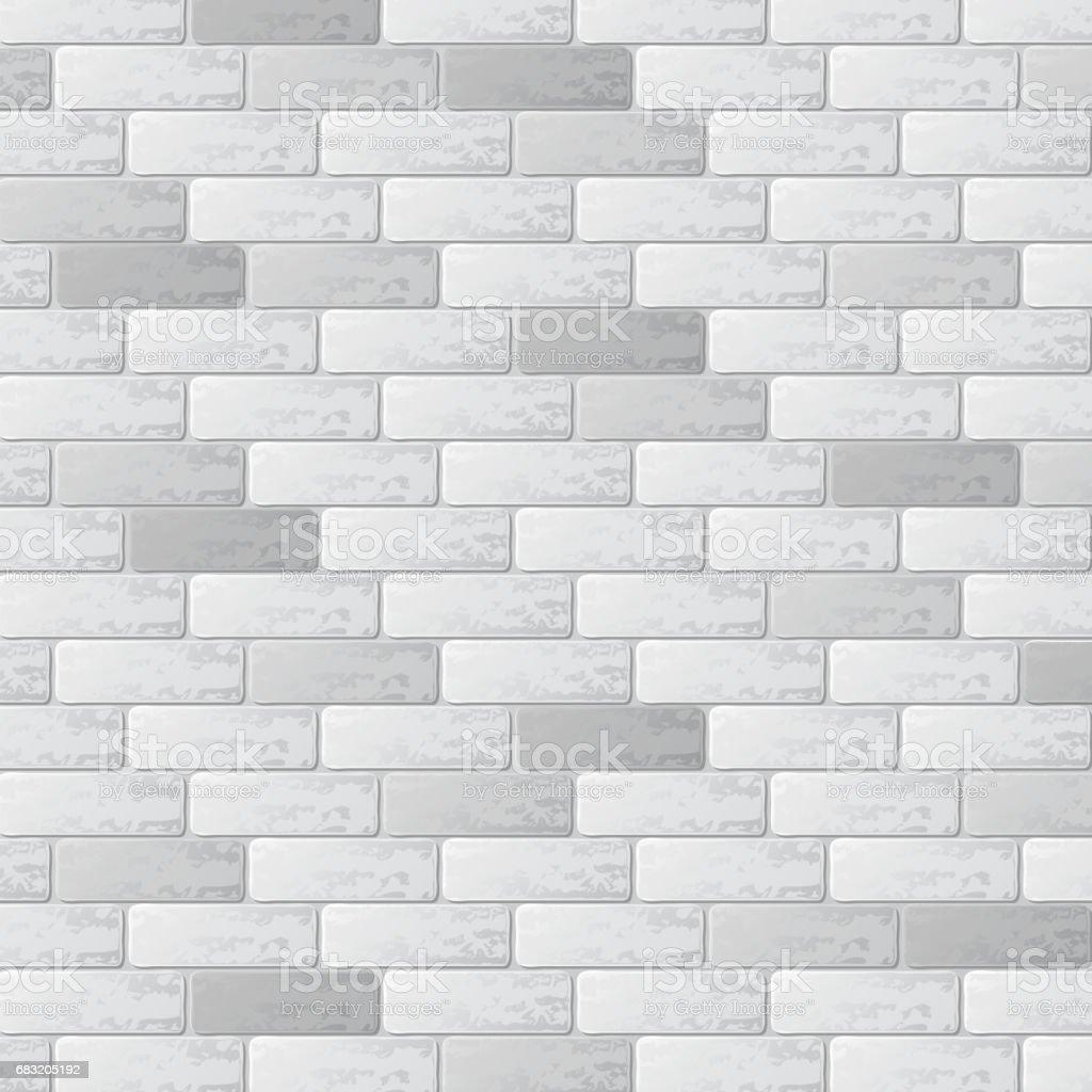 Gray brick wall background gray brick wall background - arte vetorial de stock e mais imagens de abstrato royalty-free