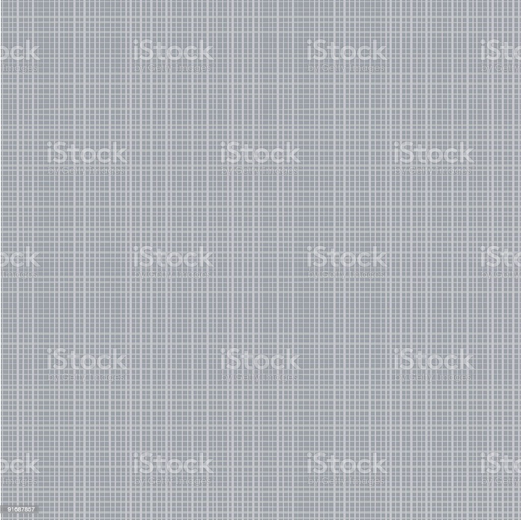 Gray canvas or fabric texture seamless repeat pattern vector art illustration