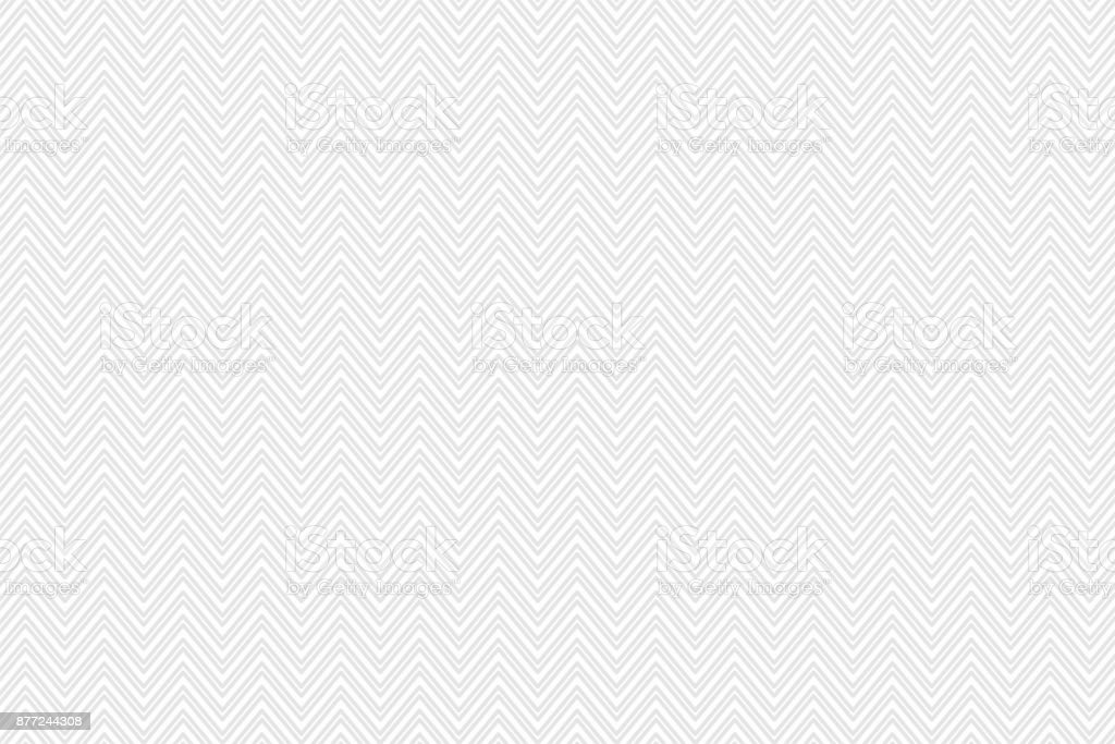 Gray Chevron Pattern for Modern Design in Flat Style. Abstract Geometric white Vector Background. vector art illustration