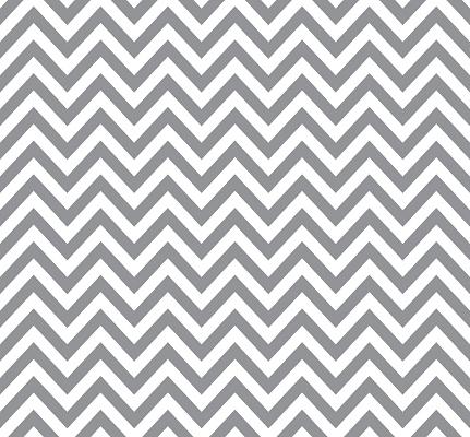 Gray chevron pattern, retro geometric seamless background.