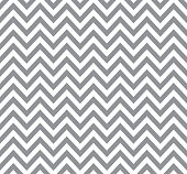 Gray chevron pattern, retro geometric seamless background.