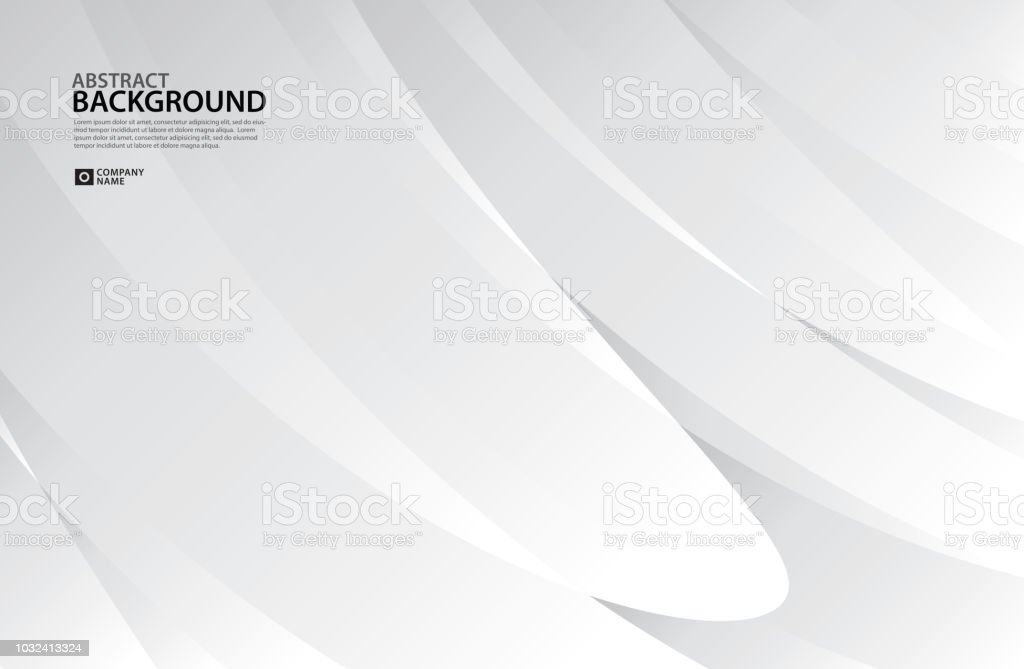 Gray Curve Abstract Background White Texture Wallpaper