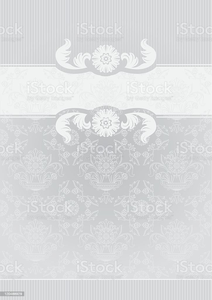 Gray Decorative Frame royalty-free stock vector art