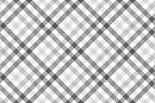 Gray diagonal check seamless pattern