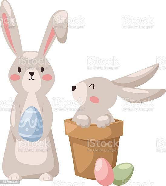 Gray easter rabbit bunny traditional symbol of spring seasonal vector id518663060?b=1&k=6&m=518663060&s=612x612&h=yvij3jan7dnmc wlcziorwhqeaqius 0btbavndkyr8=