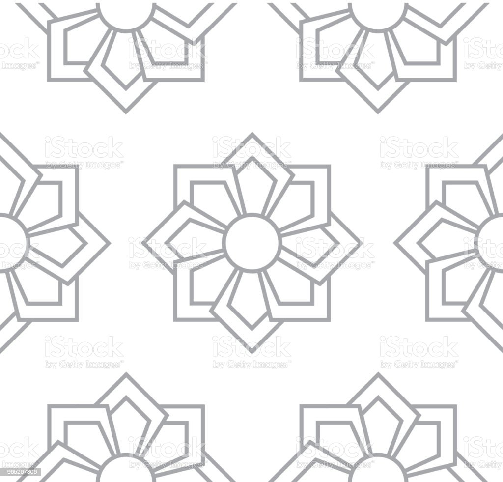 gray floral pattern seamless for backdrop royalty-free gray floral pattern seamless for backdrop stock vector art & more images of abstract