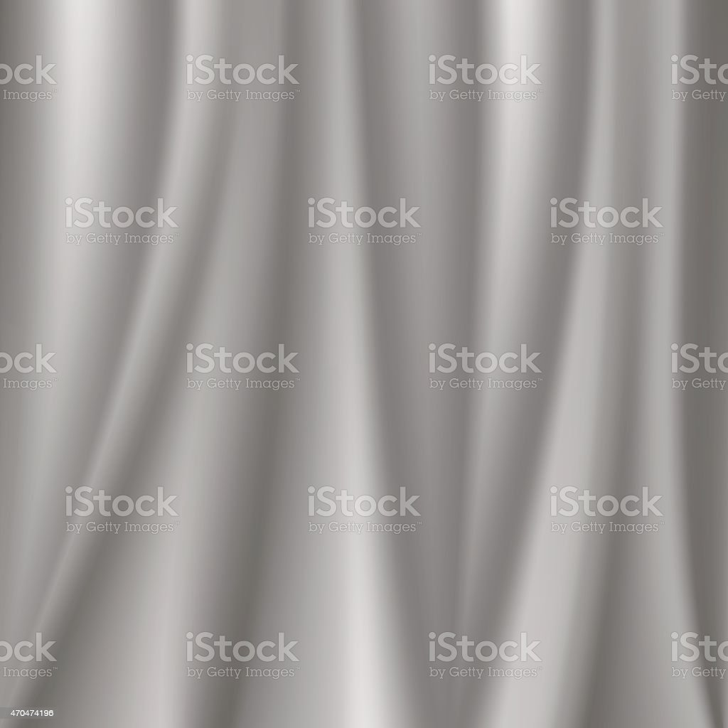 gray folds of fabric vector art illustration