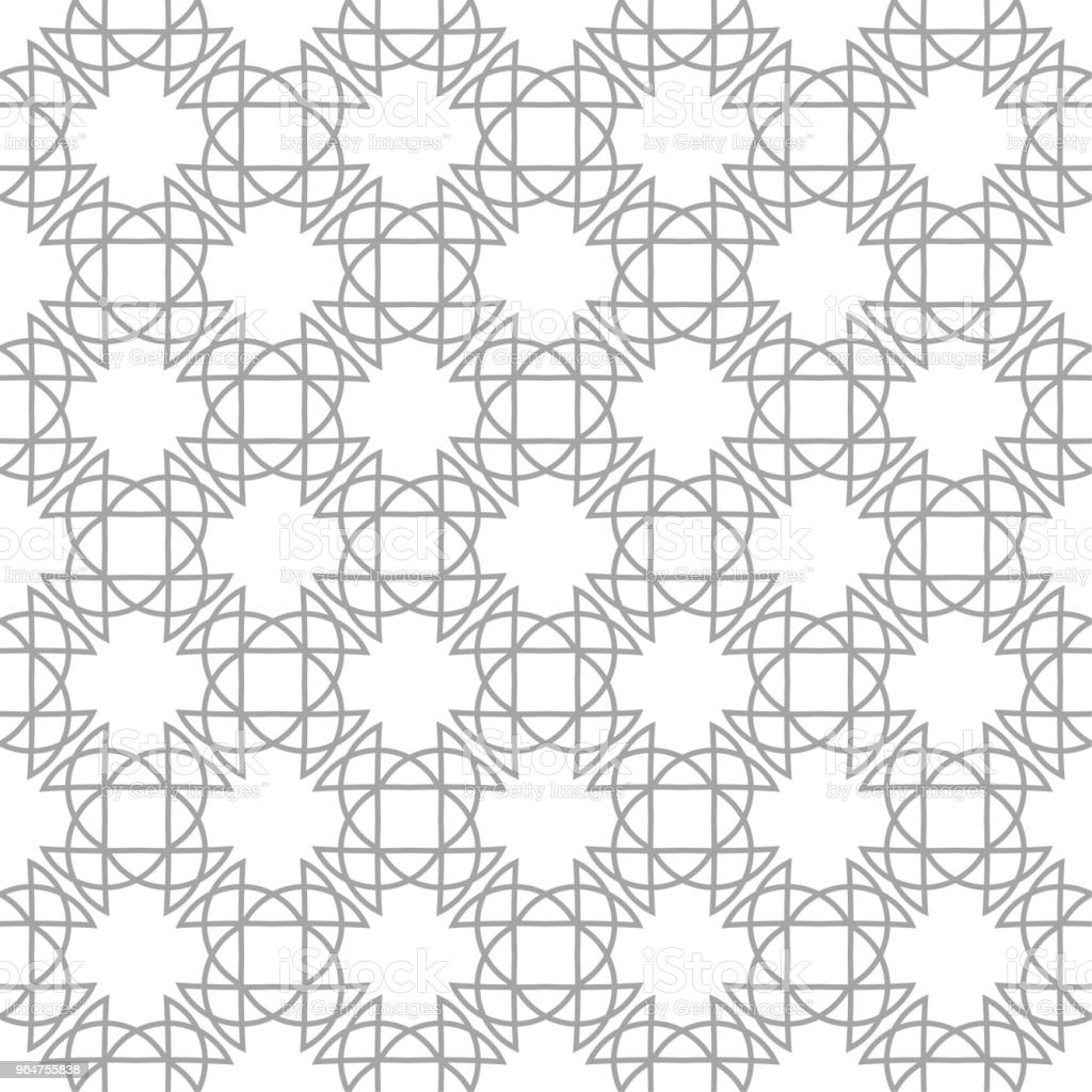 Gray geometric print on white background. Seamless pattern royalty-free gray geometric print on white background seamless pattern stock vector art & more images of abstract