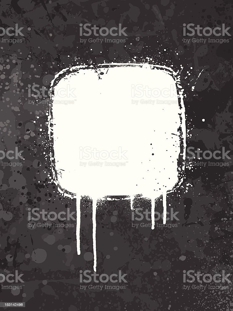 Gray grunge background vector art illustration