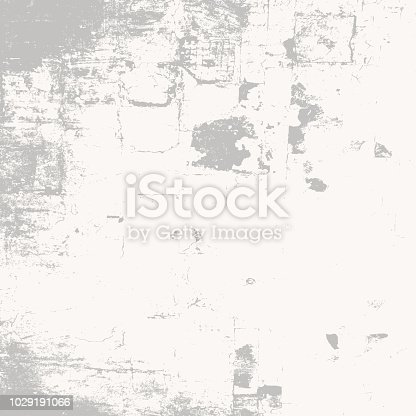 Gray Grunge urban texture. Distressed grey used background. Empty artistic design template.  EPS10 vector.