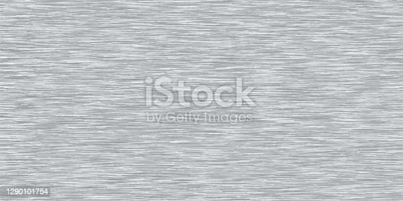 istock Gray Heather Marl Triblend Melange Seamless Repeat Vector Pattern. Swatch. T-shirt fabric texture. 1290101754