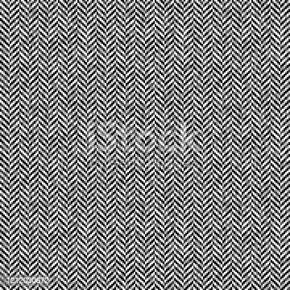 istock Gray herringbone tweed seamless pattern 1212030672
