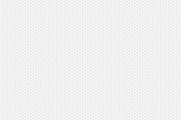 graue isometrische raster. vorlage für design. - gitter stock-grafiken, -clipart, -cartoons und -symbole