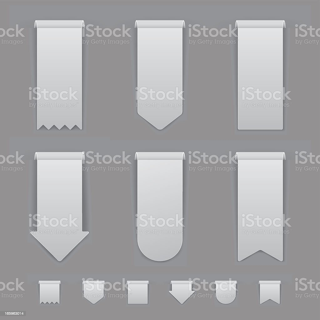 Gray Labels Set royalty-free gray labels set stock vector art & more images of advertisement