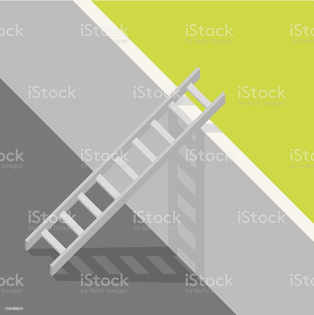 Gray Ladder royalty-free gray ladder stock vector art & more images of aspirations