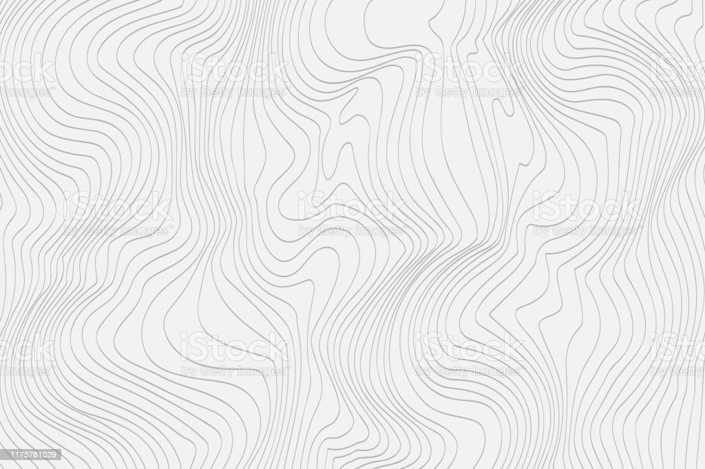 Gray linear abstract background for your design Vector - Векторная графика Абстрактный роялти-фри