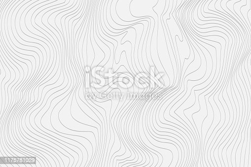 Gray linear abstract background for your design. Vector illustration.
