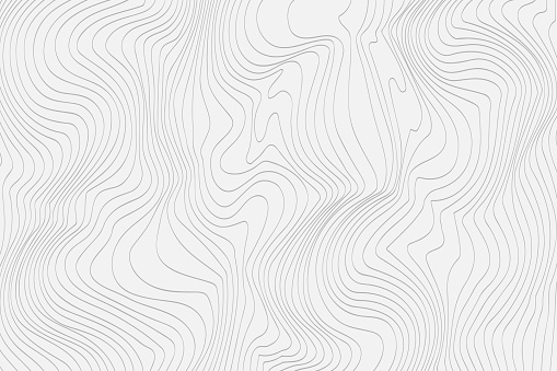 Gray linear abstract background for your design Vector clipart