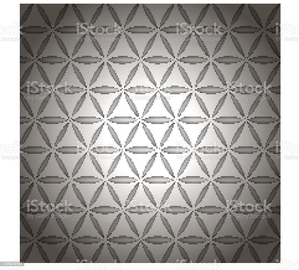 gray ornament vector art illustration