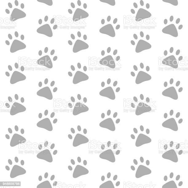 Gray paw prints vector seamless pattern white background vector id948859766?b=1&k=6&m=948859766&s=612x612&h=prlzlvfemff nmqsdqngkerlwszjrksqpptakzxghba=