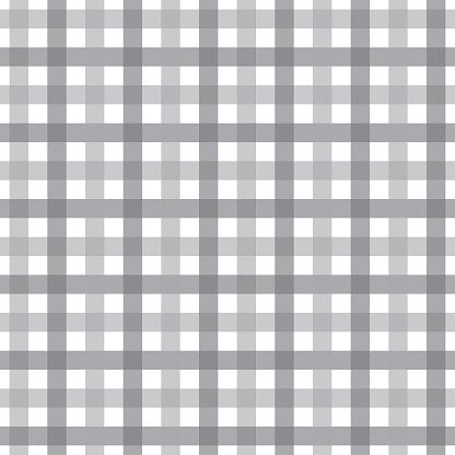 Gray Plaid Seamless Pattern