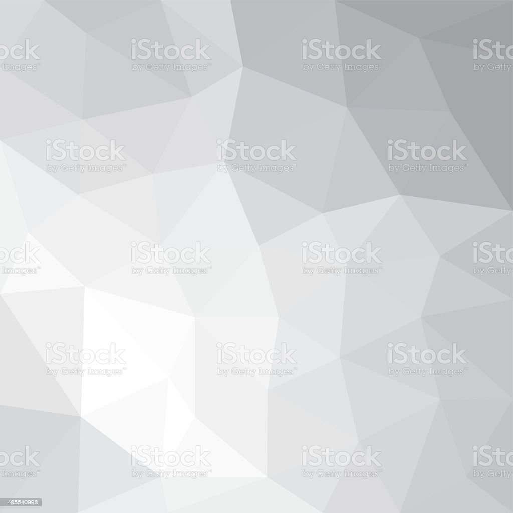 Gray polygonal background vector art illustration