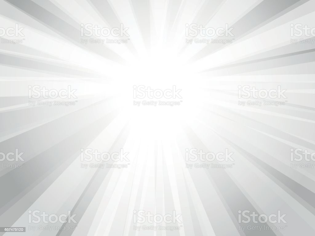 gray rays background vector art illustration
