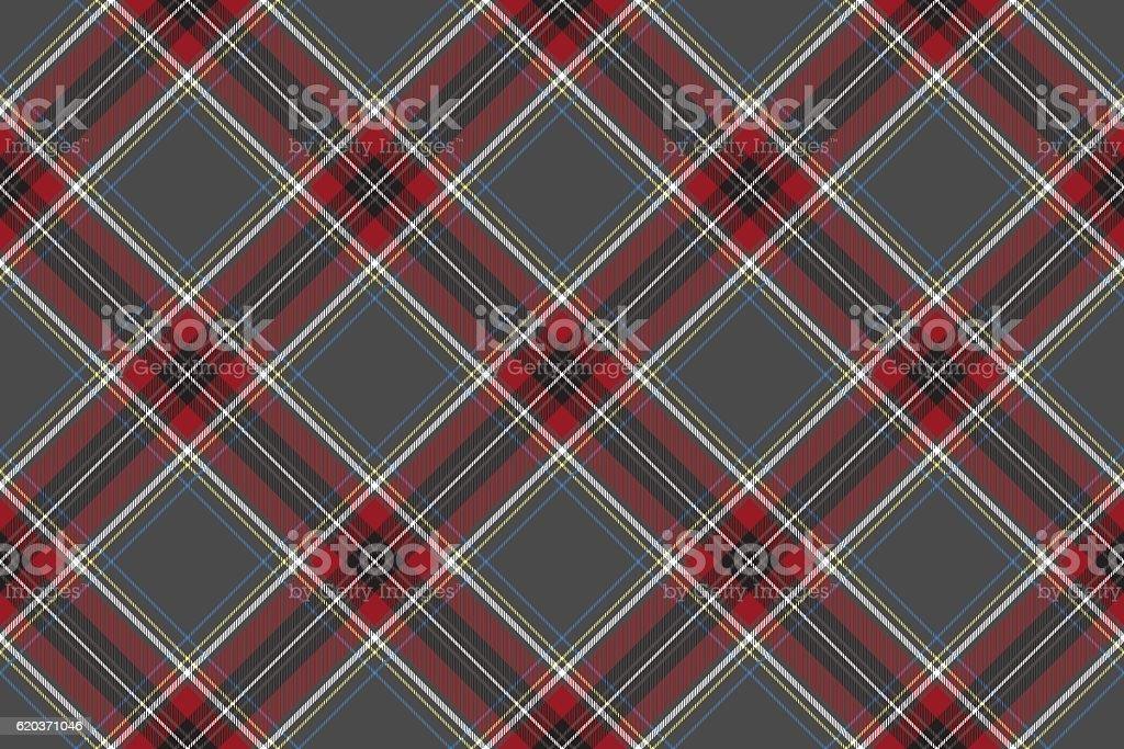 Gray red diagonal check fabric texture seamless pattern gray red diagonal check fabric texture seamless pattern - stockowe grafiki wektorowe i więcej obrazów bez ludzi royalty-free
