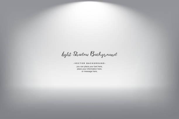 gray room abstract gradient vector background - виньетка stock illustrations