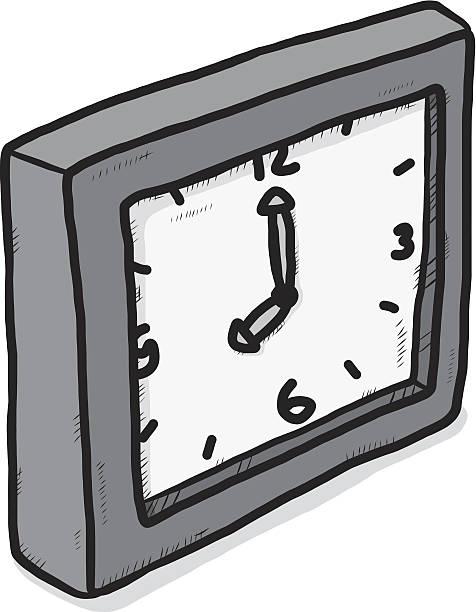 ilustrações, clipart, desenhos animados e ícones de escala de cinza-relógio - segundo grau