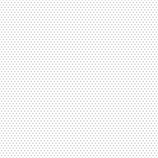gray seamless dot pattern. vector illustration - spotted stock illustrations