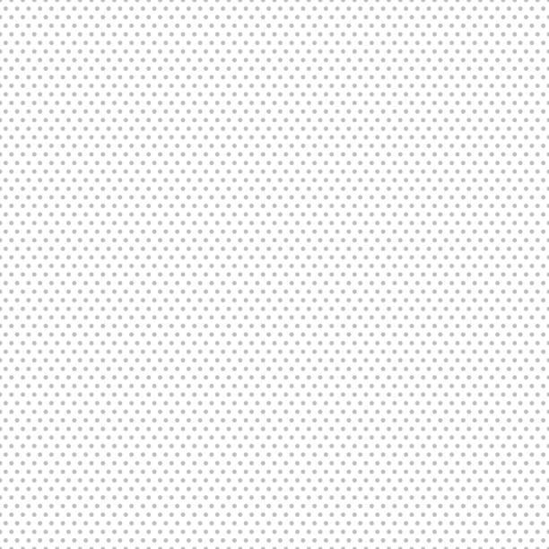 gray seamless dot pattern. vector illustration - spotted stock illustrations, clip art, cartoons, & icons