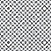 Gray and white tablecloth argyle seamless diagonal pattern background.