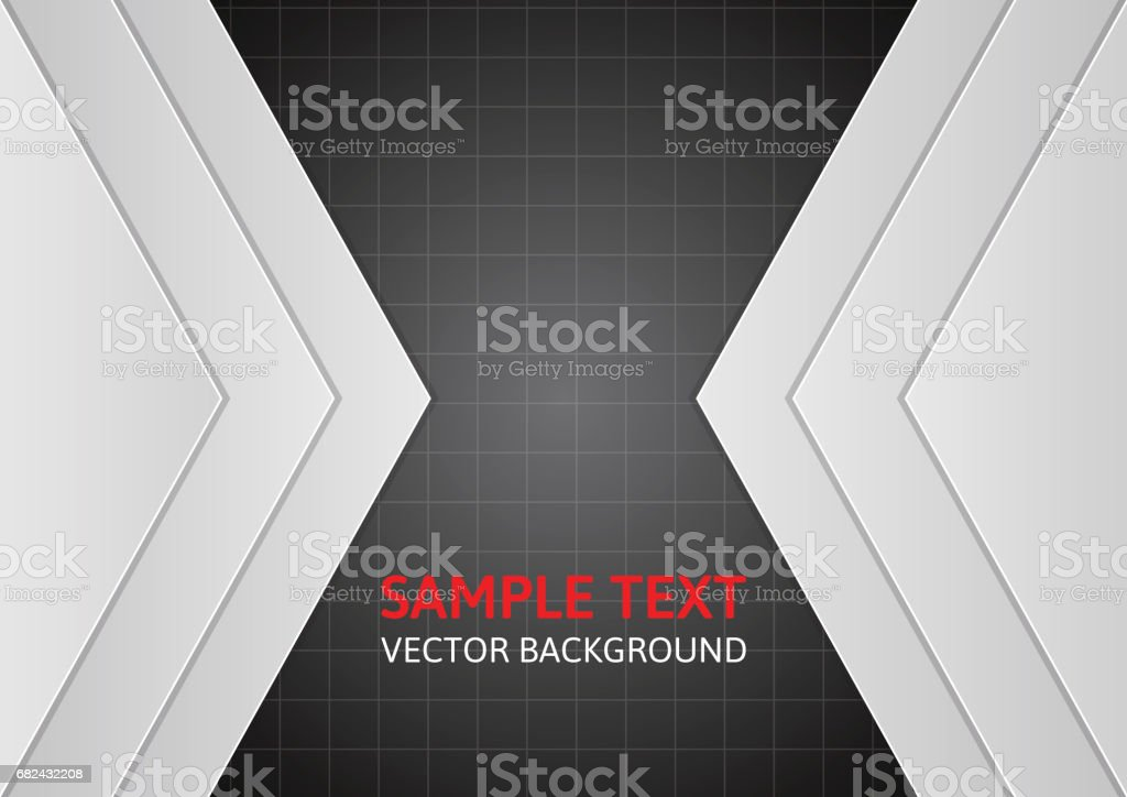 Gray vector template abstract background with copy space royalty-free gray vector template abstract background with copy space stock vector art & more images of abstract