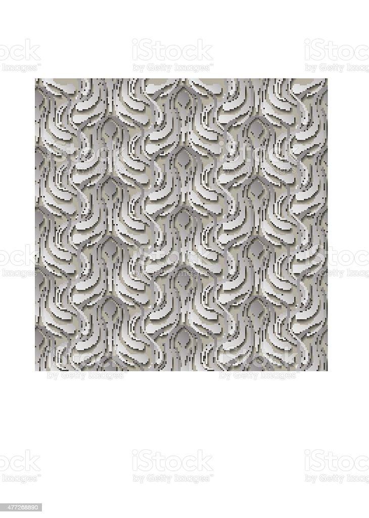 gray vintage pattern vector art illustration