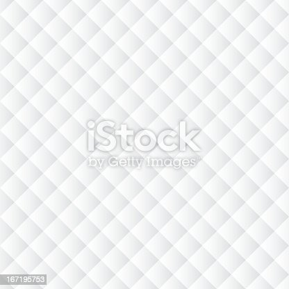 Seamless monochrome geometric background. Abstract pattern with rhombs, squares
