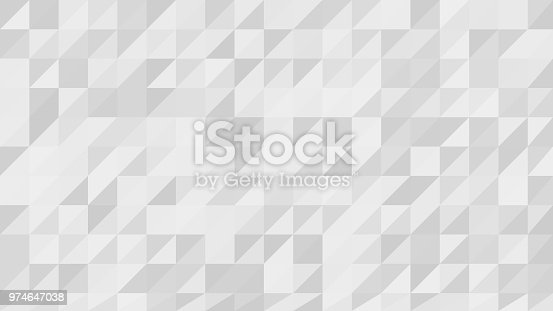 926205184istockphoto Gray White Low Poly Vector Background 974647038