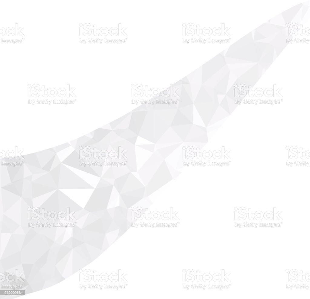 Gray White Polygonal Background Creative Design Templates Royalty Free