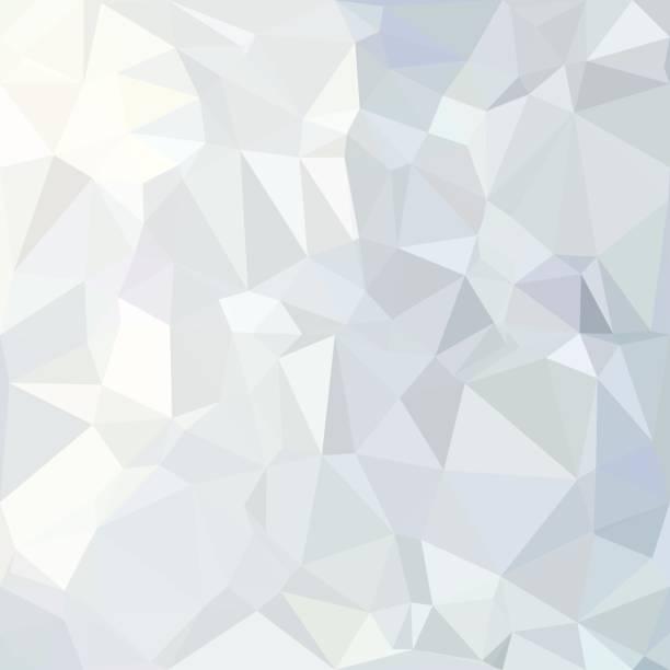 Gray White Polygonal Background, Creative Design Templates vector art illustration