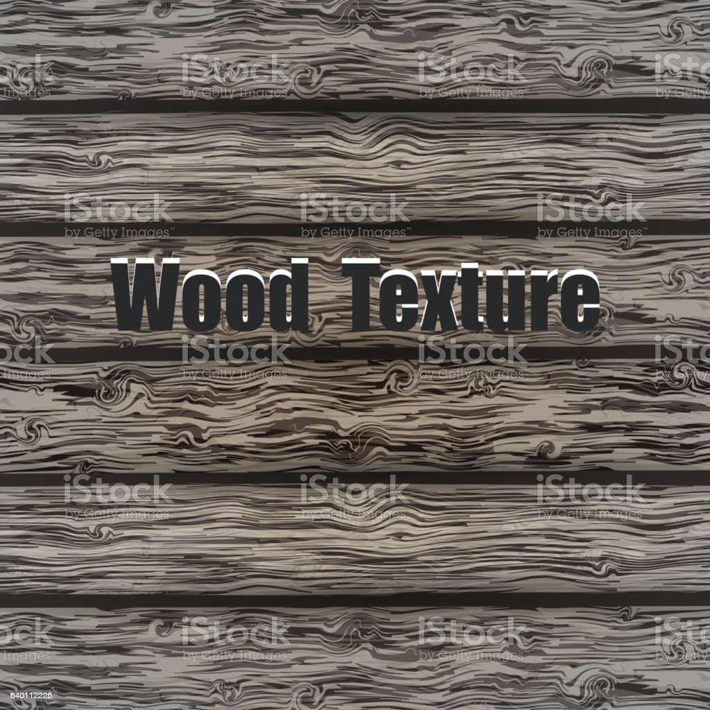Gray wood plank background vector art illustration