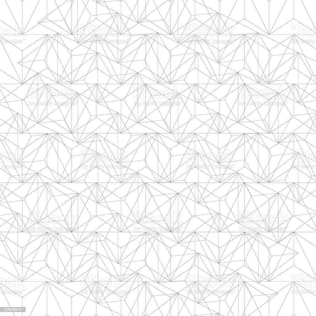 Grayscale technology stylish construction, abstract vector art illustration