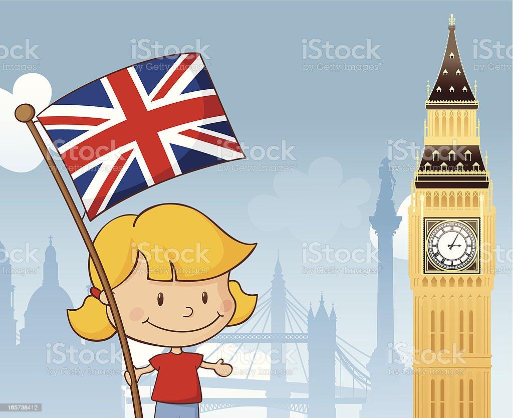 Great Britain royalty-free stock vector art