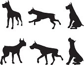 Great Dane Silhouette Collection