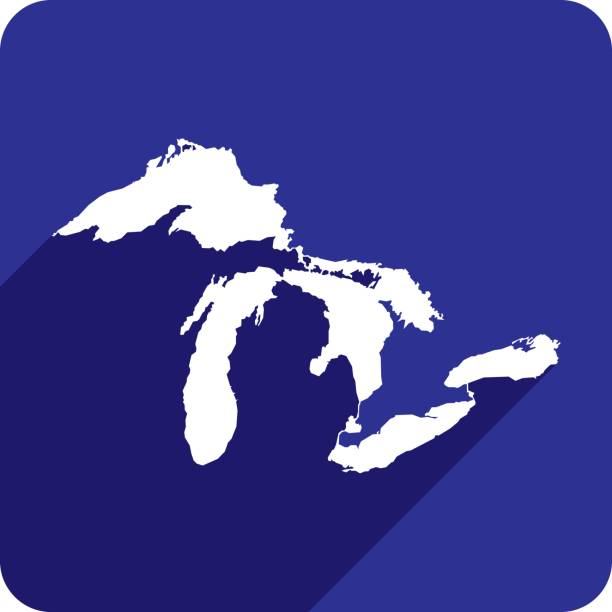 royalty free great lakes clip art vector images illustrations