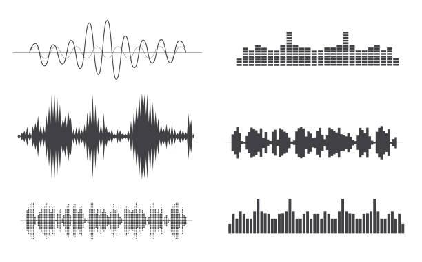 素晴らしい音の要素 - 音響点のイラスト素材/クリップアート素材/マンガ素材/アイコン素材