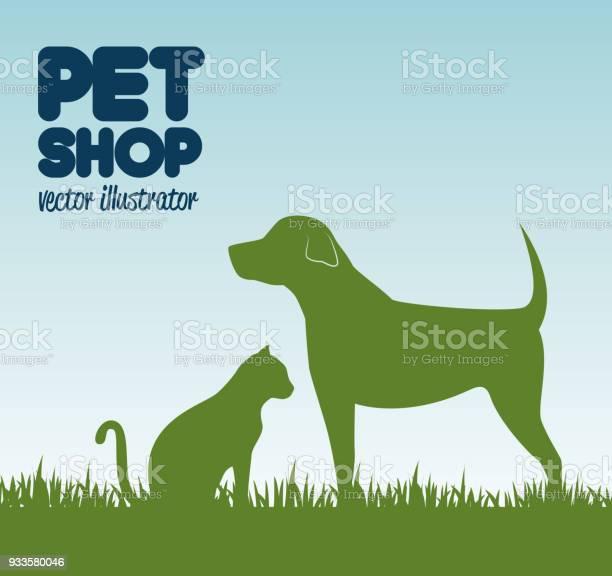 Gree silhouette dog cat and grass pet shop icon design vector id933580046?b=1&k=6&m=933580046&s=612x612&h=f4ghobp8jiphcg3drplzqmelu1fkndbl9o4bnsrgkzq=